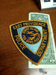 East providence Rhode Island Police Department Patch New Old Stock $9.00