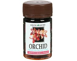Fertilizer for orchids GROW MORE ORCHID GROWTH FORMULA 30 10 10 pink powder 25 g $12.89