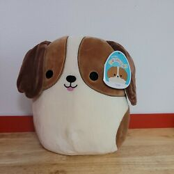 Squishmallows TYREE the Beagle Dog 10quot; NWT Free Ship $24.99