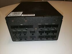 EVGA Power Supply 1600w Supernova 1600 G2 ATX 80 Gold Fully with cables $365.00
