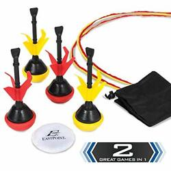 EastPoint Sports 2 in 1 Lawn Darts amp; Bocce Darts Combo Set for Outdoor Games ... $29.57