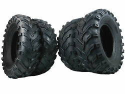 New MASSFX ATV UTV Tires (2) 25x10-12 and (2) 25x8-12 6 Ply Tire Set Front Rear $219.99