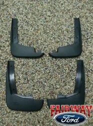 09 10 11 12 Flex OEM Genuine Ford Parts Molded Splash Guards Mud Flaps Set of 4 $99.95