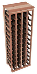 48 Bottle Kitchen Wine Rack Kit in Premium Redwood. Hand Crafted in the USA. $253.89