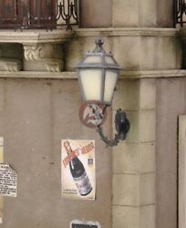 Royal Model 1 35 Antique Street Lamp on Wall Resin PE Diorama Accessory 581 $21.68
