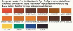 Fiebing's PRO DYE 4 Fl.OZ - ALL Colors  (Not for California customers ) $9.99