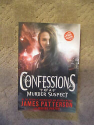 JAMES PATTERSON Confessions Of A Murder Suspect  ARC Advance Reading Copy NEW