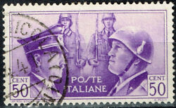 Italy Germany Axis Armies WW2 Mussolini and Hitler 1941 stamp $6.99