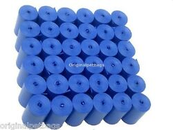 1012 Blue Scented Poop Bags Pet Waste Bags Coreless Refills13 14 mic.Made in USA $18.94