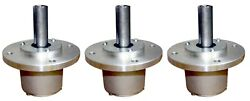 3x Lesco Commercial Lawn Mower Deck Spindle Assembly 050150  $124.95