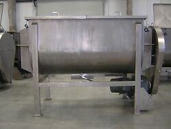 RIBBON BLENDER STAINLESS STEEL 100 CUBIC FOOT