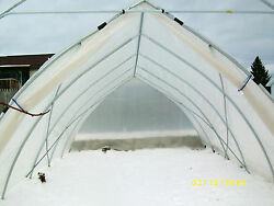 21 x40 ft Gothic Arch Greenhouse