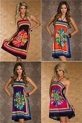 Sun Dress Swimsuit Cover Up Beach Sarong One Size $14.95