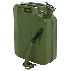 Green 20L Liter 5 Gallon Gal Jerry Can Backup Steel Tank Fuel Gas Gasoline $36.99