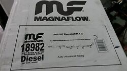 Magnaflow Performance 5quot; Turbo Downpipe Back Exhaust Duramax 01 10 Kit 18982 $357.10