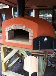 Wood fired pizza oven 28