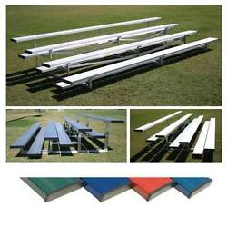 Low Rise Bleachers - 4 Row - 21'L x 30