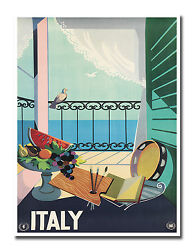 Italian Decor Art Vintage Italy Travel Poster Print 12x16quot; Rare Hot New XR657 $13.99