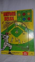 Vintage Home Run Baseball Marble Game Model No 251 Manufactured By Smethport PA.