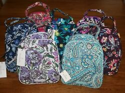 Vera Bradley LUNCH BUNCH insulated bag tote sack case box cooler  4 school work