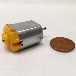 6V 130 DC Hobby Mini Motor 12500 RPM with Varistor for Digital Products $6.50