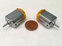 6V 130 DC Hobby Mini Motor 12500 RPM with Varistor for Digital Products 2 Pcs $7.95