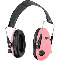 Boomstick Electronic Ear Muff Safety Hearing Noise Protection Gun Shooting Pink $39.98