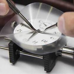 Bergeon 7982-85 Protective Vinyl Sheets for watch dial case opening. Pack of 5