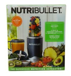 NutriBullet 24 Oz Countertop Blender 8 Piece Set with 600 Watts Motor NBR 0801 $59.95