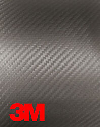 3M 1080 Anthracite Carbon Fiber Vinyl Car Wrap Decal