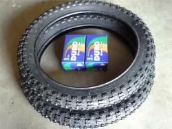 2 16x2.125 DURO DELI BMX BLACK TIRES amp; 2 16quot; TUBES FOR KIDS BICYCLES *FAST SHIP $49.99