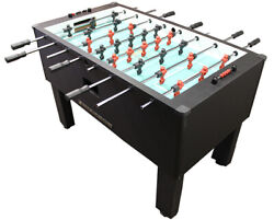 Gold Standard Home Pro Carbon Fiber Foosball Table Stainless Rod  Black Handles