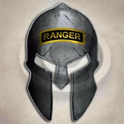 Army Ranger Spartan Helmet Sticker Military Special Forces Decal