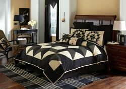 8PC CARRINGTON STAR KING QUILT BEDDING SETBEDDING PACKAGE
