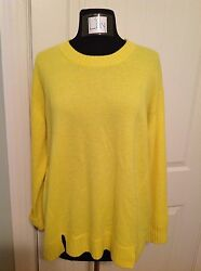 J.CREW COLLECTION CASHMERE SIDE-PANEL SWEATER - SMALL - SOLD OUT!!!