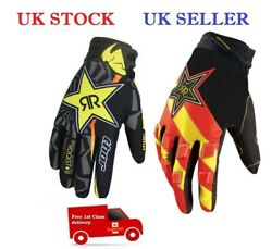THOR ROCKSTAR KTM FOX GLOVES FOR CYCLING MOTOR BIKE FISHING OUTDOOR ACTIVITIES GBP 11.95