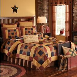 8PC MONTCLAIR QUEEN QUILT BEDDING SETBEDDING PACKAGE By PARK DESIGNS
