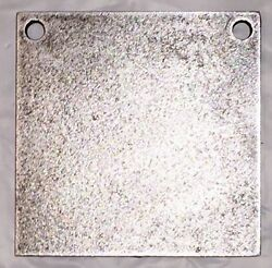 AR500 Steel Target Square Gong 1 2quot; X 8quot; $23.79