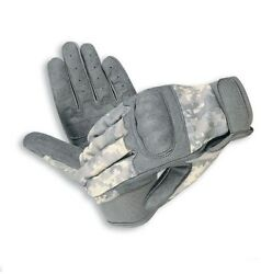 TACTICAL GLOVES LEATHER HARD KNUCKLES BLACKACU SMLXL $9.99