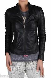 Leather Jacket Lambskin Soft Material Free Shipping Online Sale Offer EHS W- 74
