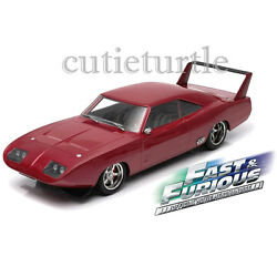 Greenlight Fast and the Furious 6 Dom's 1969 Dodge Charger Daytona 1:18 19003
