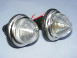 Mk 1 2 3 4 CLASSIC MINI FRONT INDICATOR LAMPS. CLEAR LENS GBP 15.50