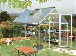 Outdoor Greenhouses Kit Garden Hobby Patio Polycarbonate Gazebo Pergola Shed