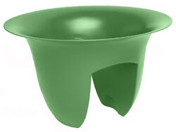 Bloem MR1828 Modica Rail Planter Green 18-In.