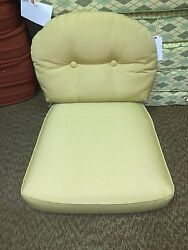 Frontgate Charleston Outdoor Patio Chair Replacement Cushion Golden Sesame NEW