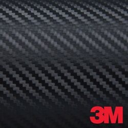 3M Di-NOC Black Carbon Fiber Vinyl Automotive Wrap Decal