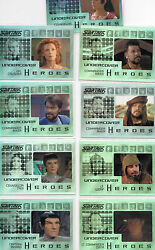 Star Trek TNG Heroes & Villains  Undercover Heroes card YOU PICK ONE