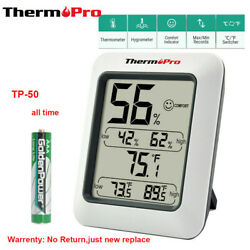 ThermoPro Digital Hygrometer LCD Indoor Thermometer Temperature Humidity Meter $10.99