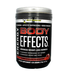 Power Performance BODY EFFECTS 30 Servings FAT BURNING PRE WORKOUT Energy Mood