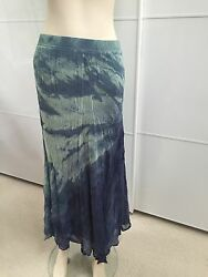 Gypsy Skirt Long Blue and Green size XS $23.00